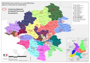 Localisation communes DR